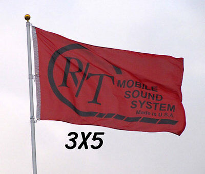Custom Print Full Color Flag Two Grommets Banner Sign Display One Sided