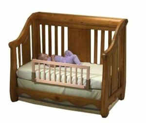 Convertible Crib Bed Rail (Wooden)