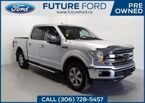 2018 Ford F-150 LARIAT|5.0L V8|LARIAT CHROME PACKAGE|SPRAY-IN BE