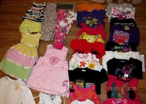 LOT (40+ items) of girl's clothing for 3 years of age