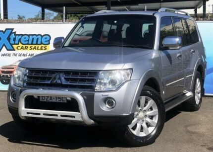 2008 Mitsubishi Pajero NS Exceed Silver Sports Automatic Wagon Campbelltown Campbelltown Area Preview