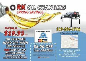 Affordable Semi Synthetic Oil Change,Tire Service,car