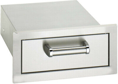 Fire Magic Premium Flush Mount 14-Inch Single Access Drawer 53801