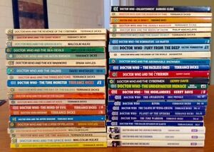 'Doctor Who' books sale/ trade - many 1st editions & rare! Target Blackwood Mitcham Area Preview