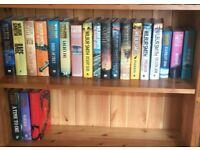 Wilbur Smith hardback book collection x21