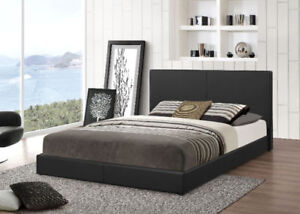 Platform queen bed only $169.