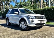 2013 Land Rover Freelander 2 LF MY13 Td4 SE White 6 Speed Sports Automatic Wagon Buderim Maroochydore Area Preview