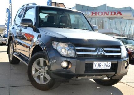 2008 Mitsubishi Pajero NS X Grey 5 Speed Auto Seq Sportshift Hardtop Pearce Woden Valley Preview