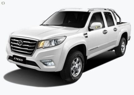 2016 Great Wall Steed NBP White 6 Speed Manual Utility