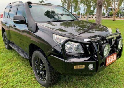 2012 Toyota Landcruiser Prado KDJ150R VX Black 5 Speed Automatic Wagon Berrimah Darwin City Preview