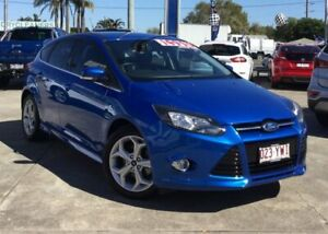 2013 Ford Focus LW MkII Sport Blue 5 Speed Manual Hatchback Currimundi Caloundra Area Preview