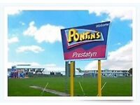 Pontins family break for 6