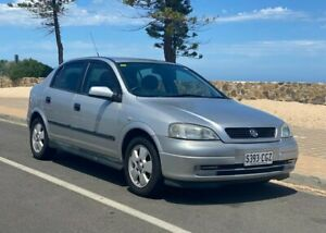 2004 Holden Astra TS MY03 CD Silver 4 Speed Automatic Hatchback Christies Beach Morphett Vale Area Preview