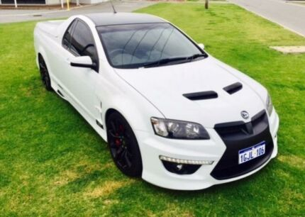 2011 Holden Special Vehicles Maloo E3 R8 White 6 Speed Automatic Utility