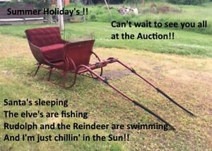 Outstanding Estate Auction .. Pontoon boat .. Skid Steer ..