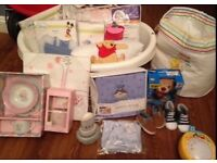 Collection of baby things