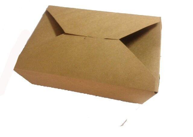 """50 ct Kraft Take Out Boxes -6"""" x 4.75"""" x 2.5"""""""