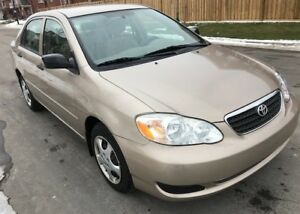2005 Toyota Corolla  Auto, Only 112,000 kms,  CERTIFIED