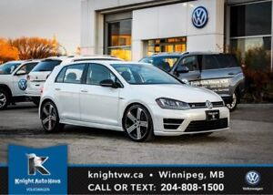 2017 Volkswagen Golf R AWD w/ Leather/Nav/Backup Cam/Lane Change