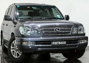 2005 Lexus LX470 UZJ100R MY06 Grey 5 Speed Automatic Wagon Rozelle Leichhardt Area Preview
