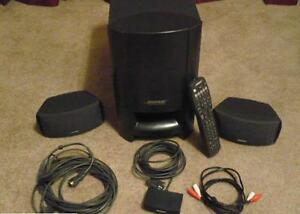 REDUCED Bose Cinemate Series II with Two remotes & Optic Cble