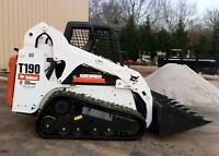 Bobcat Service / With operator.
