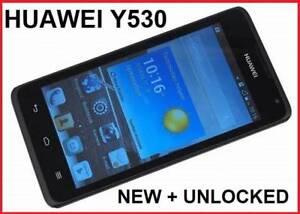 4 x NEW HUAWEI Y530 – U051  3G UNLOCKED  4.5 INCH 5MPX CAMERA $70