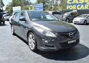 2010 Mazda 6 GH1051 MY09 Luxury Sports Grey Sports Automatic Hatchback Campbelltown Campbelltown Area Preview
