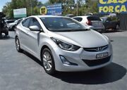 2014 Hyundai Elantra MD3 Trophy Silver Manual Sedan Campbelltown Campbelltown Area Preview