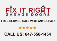 Garage Door Issues? Call: 647-556-1454 - Quick, Reliable Repairs
