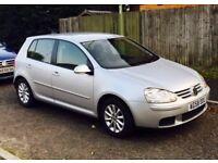 **Immaculate** Volkswagen Golf 1.9 TDI Match Hatchback 5dr – 1.9L - Silver – Manual - 58 Reg (2008)