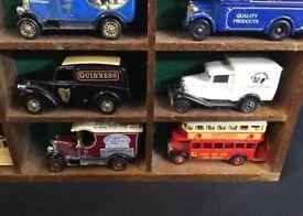 Vintage toy trucks
