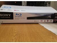 Sony BDP-S380 Blu-ray Player Boxed and with remote control