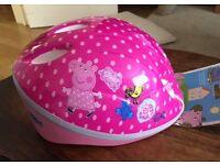 Peppa pig XS helmet