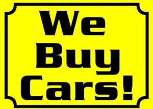 WE BUYS VEHICLES MESSAGE US TODAY!