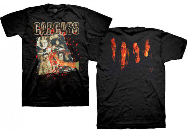 New Carcass Necroticism Album Death Metal Shirt (S,M,L,XL,2XL) badhabitmerch