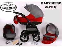 Zipy Q pram pushchair stroller buggy 3 in1 from Baby-Merc