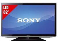 Sony Bravia 32 inch Full HD 1080p Slim LED TV, Freeview HD built in, 2x HDMI + USB Media Player