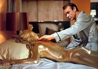 Movie PHOTO 8.25x11.75 James Bond 007 Goldfinger Sean Connery Shirley Eaton 006