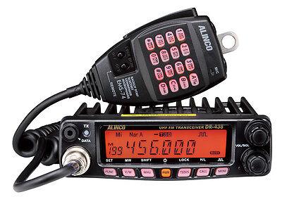 ALINCO DR-438-HE Mobilfunkgerät UHF 70cm Amateurfunk - erweiterbar 400-490 MHz