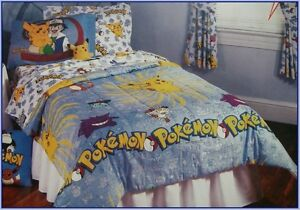 Pokemon Themed Bed Set (Twin size) @ Game Cycle East London!!