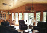 Move in and relax in this well-kept 3-bd, 2-bath lake getaway