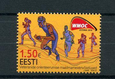 Estonia 2016 MNH Veterans World Masters Orienteering Championships 1v Set Stamps