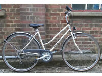 Hybrid dutch style ladies bike PEUGEOT, frame size 20inch in good condition - serviced warranty