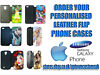 Personalised Custom Printed Samsung Mobile Leather Case Enfield, London
