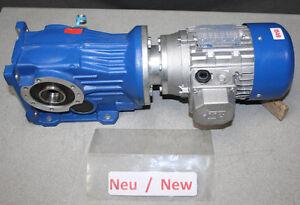Stm Gear Motor 0 25 Kw 20 Min Worm Gear Omp 63 A2w Gearbox Ebay