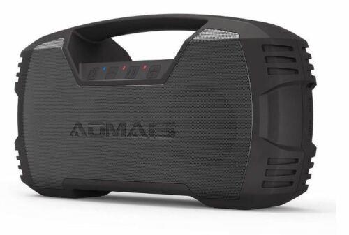 AOMAIS GO Bluetooth Portable Speaker 30W Waterproof IPX7 Wireless Stereo Bass