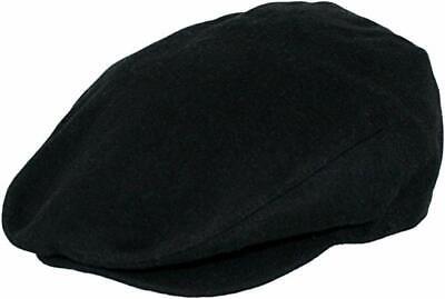 Men's Premium Wool Blend Classic Flat Ivy Newsboy Collection Tweed Hat Cap Snap Classic Tweed Hat