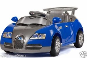 BRAND NEW RIDE ON CAR BUGATTI VEYRON SPORTS COOL KID TOY ELECTRIC BATTERY REMOTE