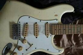 Fender stratocaster. Guitar. P x swap. Motorcycle